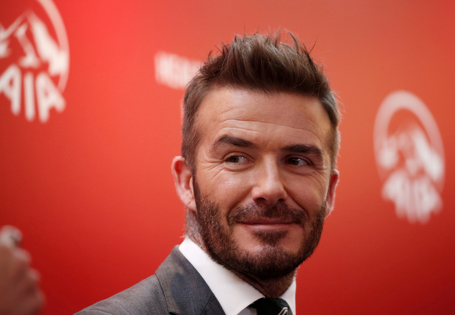 Football icon David Beckham reveals franchise name & emblem - Twitter trolls assemble!
