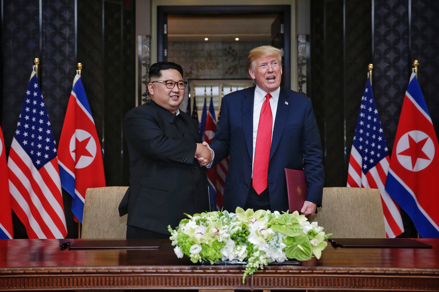 Trump receives 'positive' letter from Kim Jong-un requesting new meeting – White House