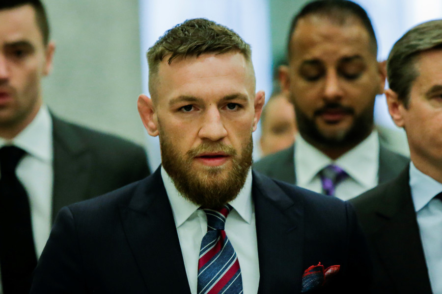 Conor McGregor sued by fellow UFC fighter over Brooklyn bus attack