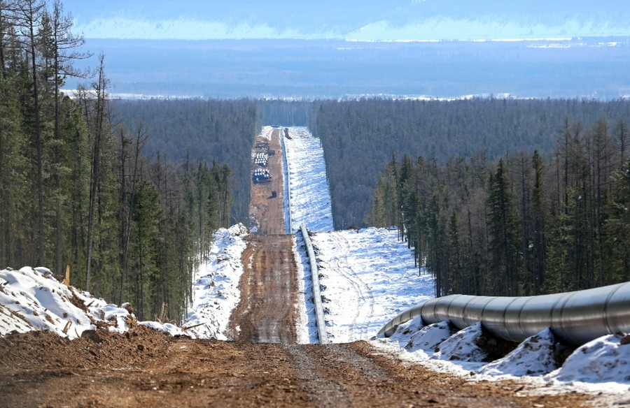 Russian gas megaproject to China close to completion