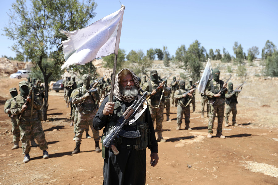 17 years after 9/11, Al-Qaeda rebranded by US government & media as besieged rebels