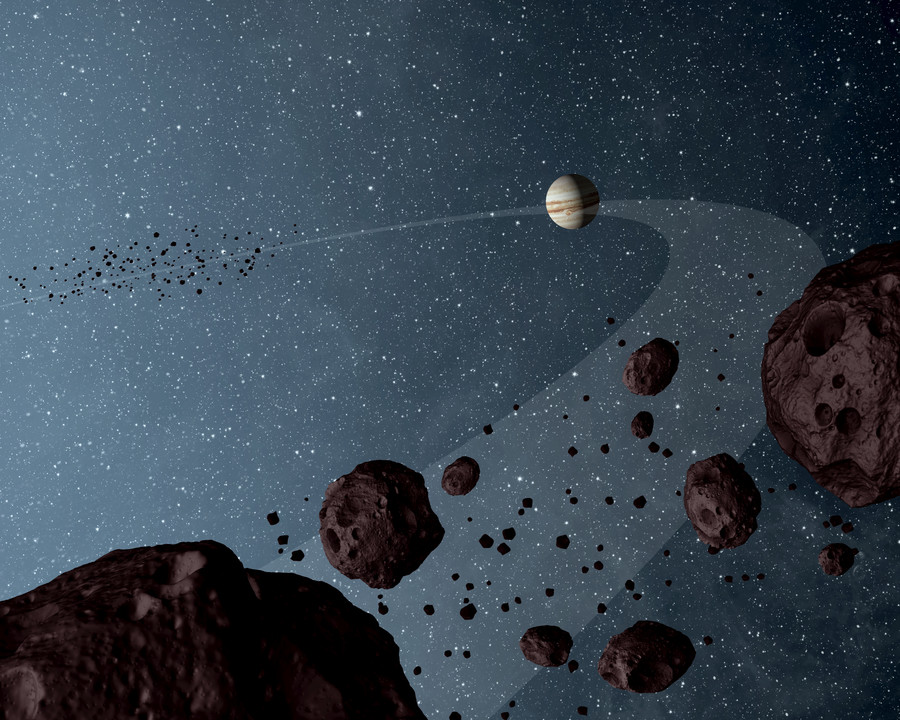 Space invaders: Jupiter & Saturn 'bullied' other planets away from sun at beginning of the universe