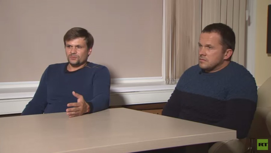 RT editor-in-chief's exclusive interview with Skripal case suspects Petrov & Boshirov