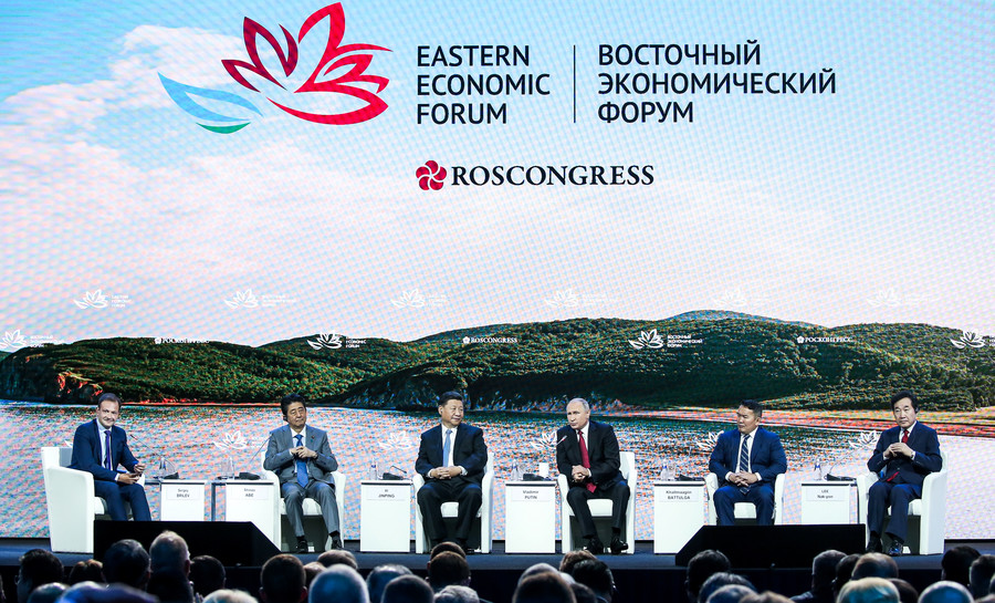 An Eastern touch: Russia & Asia working together to create new media language