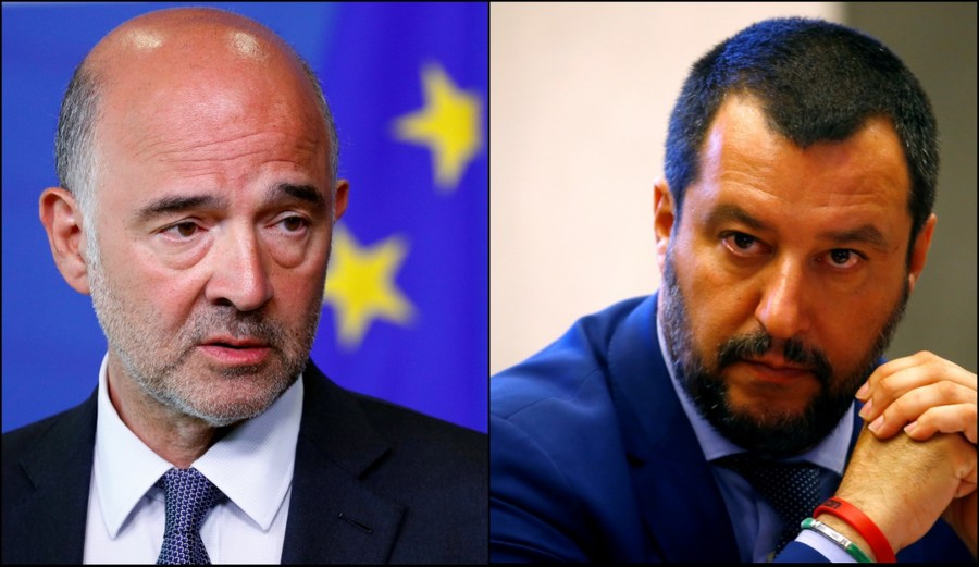'Wash your mouth out': Italy's Salvini hits out at top EU official over 'little Mussolinis' remark