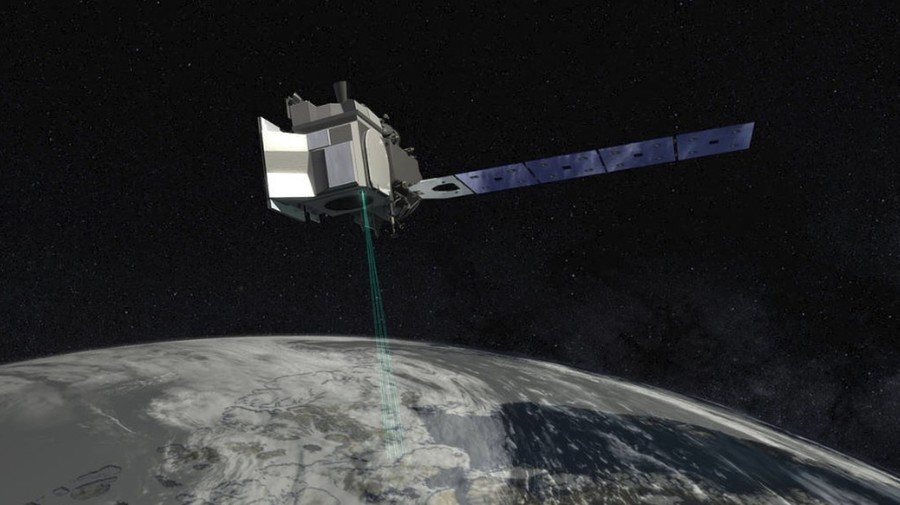 NASA launches advanced laser device into space to measure Earth's changing polar ice (VIDEO)