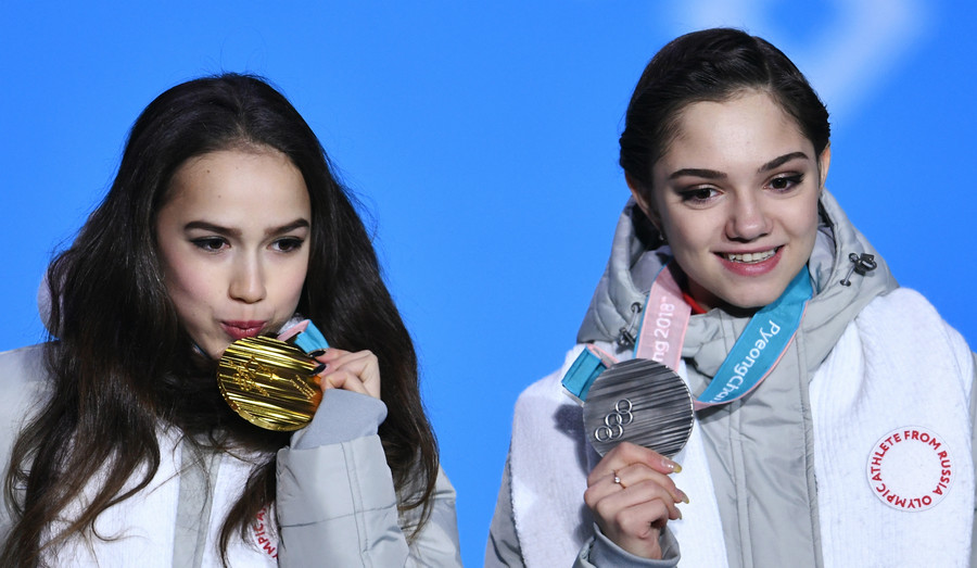 'I didn't ask for Zagitova to be held back' – Medvedeva on claims of Olympic row with ex-coach