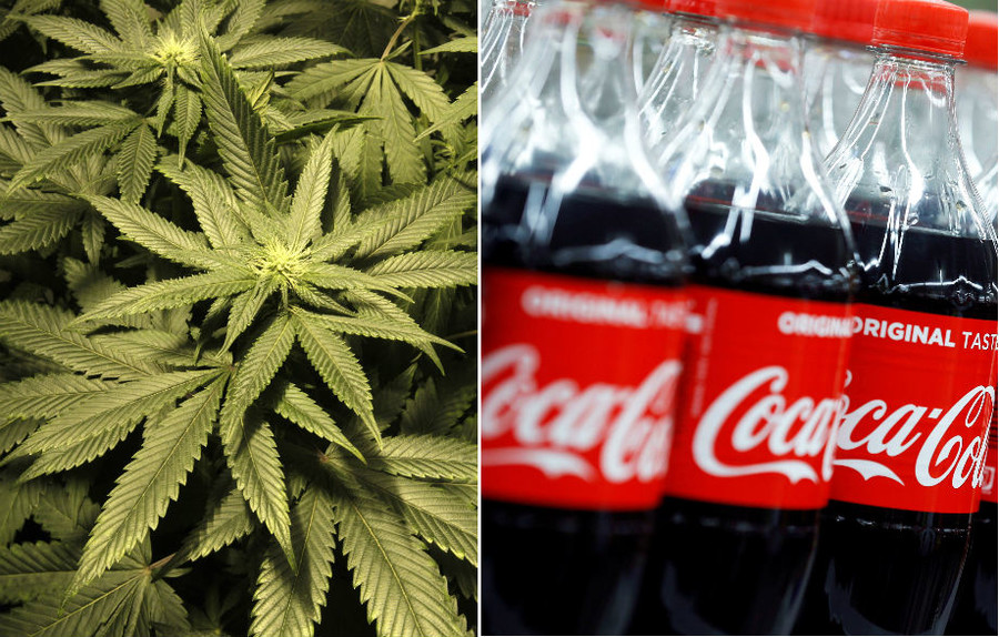 Coca-Cola in 'serious talks' about branching into cannabis beverage market – report