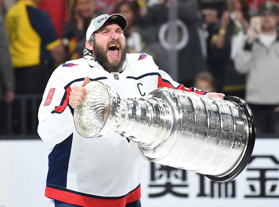 Stanley Cup 'damaged' during wild Capitals celebrations