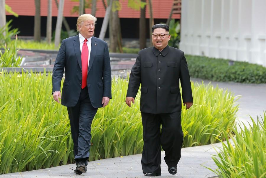 US President Donald Trump says he's set to meet North Korean leader Kim Jong-un soon