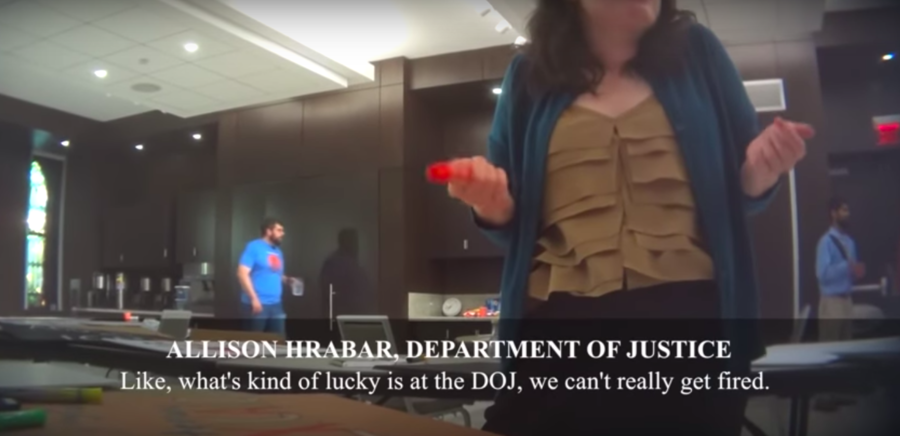 'It's like Deep Throat': DOJ investigating after employee admits to resisting Trump 'from inside'