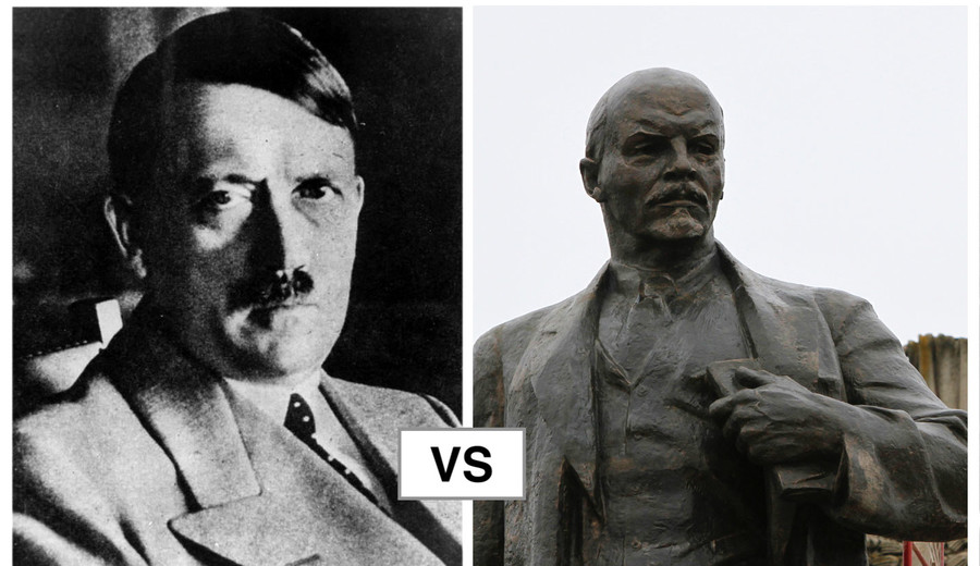 'Lenin' attempts to sabotage arch nemesis 'Hitler' in local election