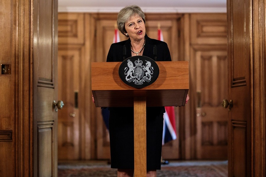 UK PM May demands new proposals from EU to break 'impasse'