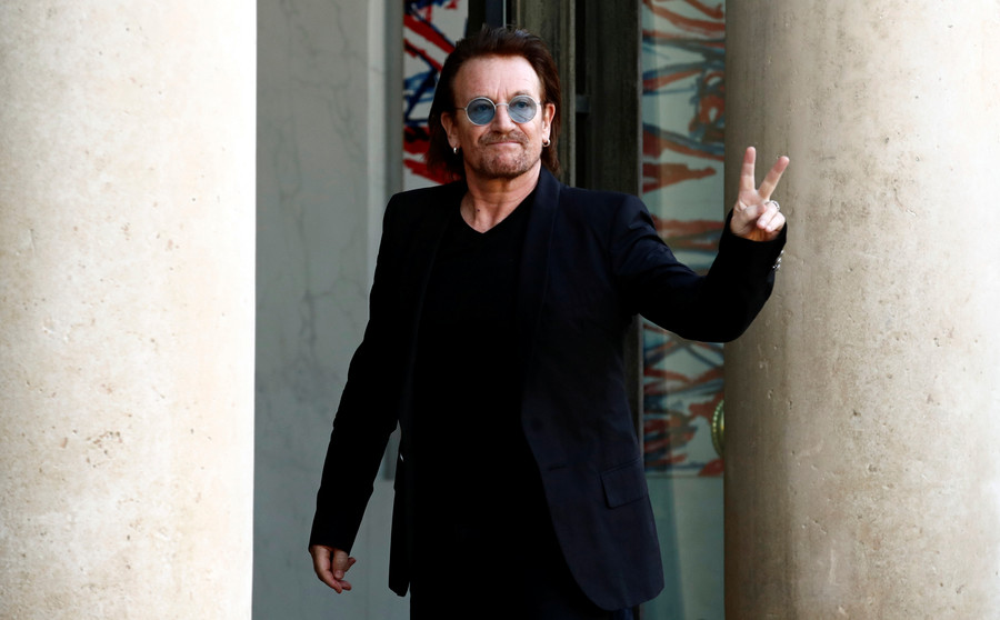 'Amoral' capitalism needs to be tamed – millionaire rock star Bono tells WEF