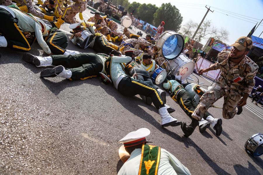 Iran vows 'crushing & devastating response' to US & Israel after military parade attack