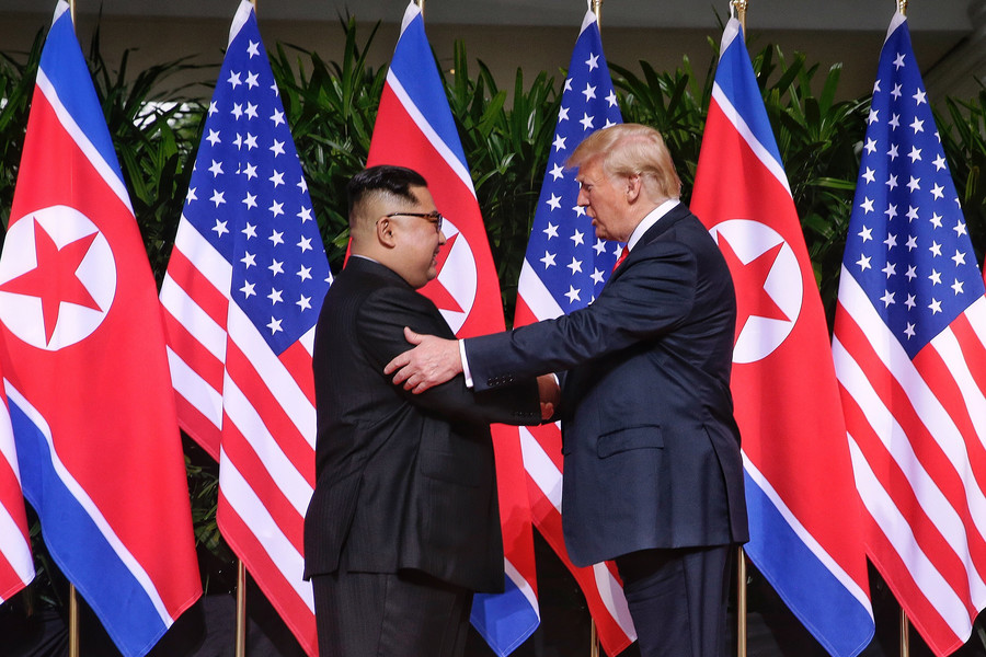US President Donald Trump says he expects to hold second North Korea summit 'quite soon'