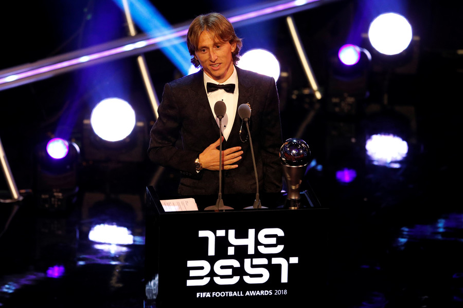 Modric beats Ronaldo & Salah to claim FIFA men's player of the year award