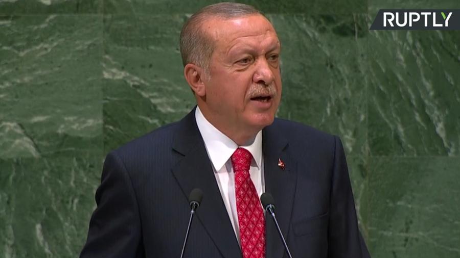 Erdogan calls for Security Council reform, hails Turkey's work in Syria during UNGA speech