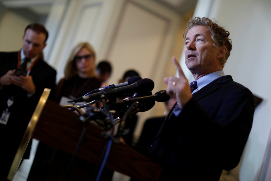 Rand Paul wants to lift US travel bans on Russian lawmakers if Moscow reciprocates – report