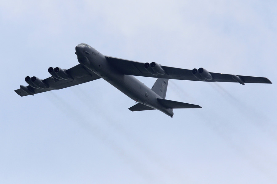 Beijing slams US military 'provocations' after B-52 bombers fly over South & East China Seas