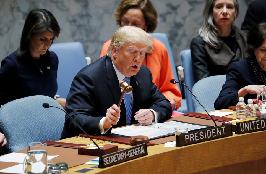 US way or no way: Trump treated rest of world as America's footstool at UNSC