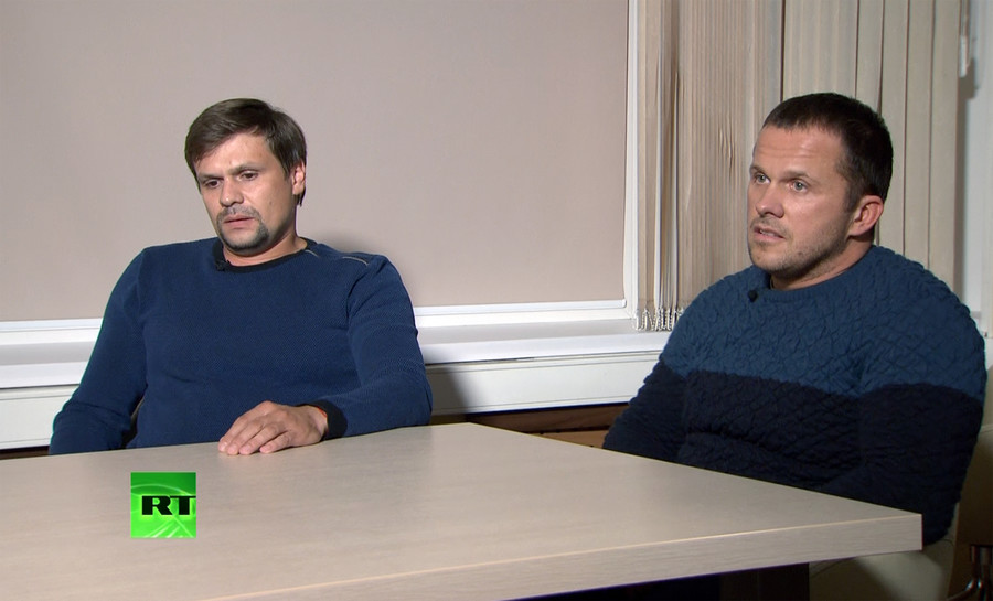 Putin has information that Skripal poisoning suspects Petrov and Boshirov are civilians - Kremlin