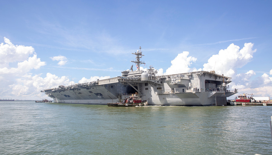 Crumbling dominance: US aircraft carriers in worst shape in decades - report