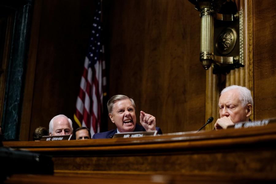 'The most unethical sham': Lindsey Graham rails at Kavanaugh FBI probe demands (VIDEO)