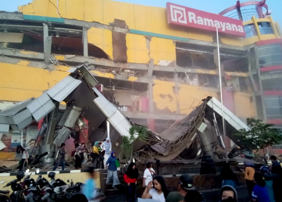 At least 384 people killed after quake & massive tsunami ravage Indonesian island (PHOTO, VIDEO)