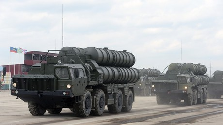 FILE PHOTO S-400 missile system