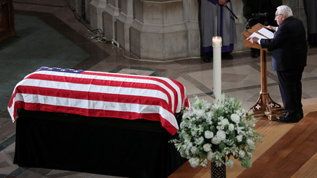 McCain's funeral was a disgusting exercise in historical revisionism