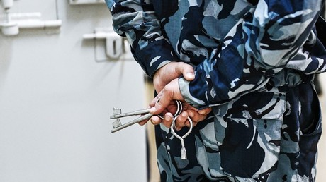 An employee at Pretrial Detention Center No. 2 (Butyrskaya remand prison) of the Federal Penitentiary Service Directorate for Moscow © Vladimir Pesnya