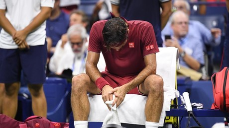 5b8e2347dda4c8e6628b45f1 Tennis superstar Roger Federer knocked out of US Open by 55th ranked underdog