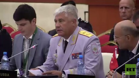 5b8e8d75dda4c8873b8b45a6 Russian police chief goes to Brunei to share pro tips with Asian law enforcement bosses