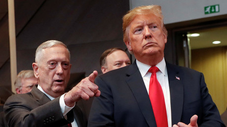 Satire nose no bounds: Mattis didn't avert nuclear war by grabbing Trump's nostrils, journo confirms