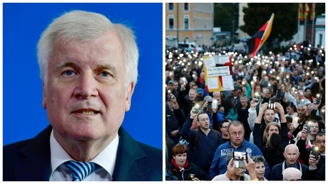 'I would join protests if I wasn't minister': Merkel interior chief Seehofer on Chemnitz unrest