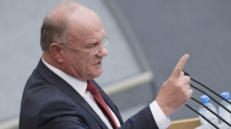 Communist chief Zyuganov says Putin should accept Donbass into Russia