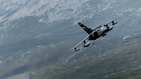A Royal Air Force Tornado jet © Christopher Furlong