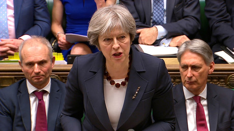 PM Theresa May hits out at RT in veiled attack on her opponents in Parliament