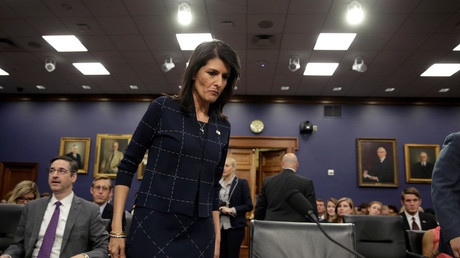 'Don't test us': Haley threatens US strikes over any attack on Syria's Idlib