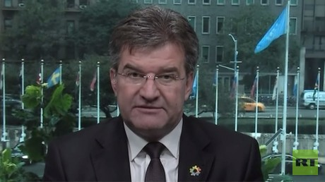 Coming UN-done? Miroslav Lajcak, president of the United Nations General Assembly