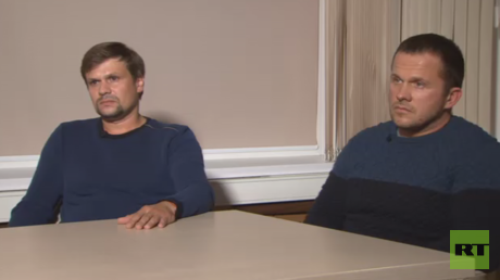 'We're not agents': UK's suspects in Skripal case talk exclusively with RT's editor-in-chief (VIDEO)