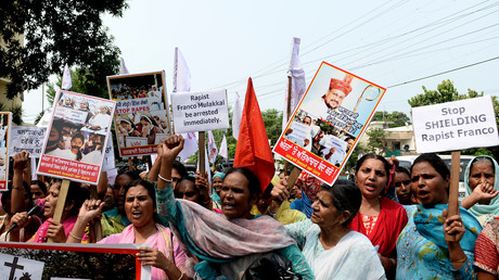 Police summon Indian bishop accused of repeatedly raping nun amid protests