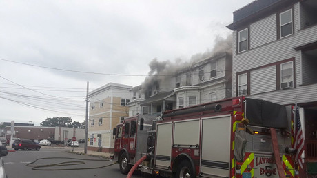 Gas explosions set homes north of Boston on fire (PHOTOS)