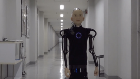 Robo-kid: Japanese professor builds creepy child-like robot (VIDEO)