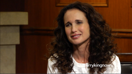 Andie MacDowell on ageism in Hollywood, fame, & forest protection
