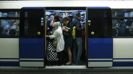Laptop explodes on Madrid Metro, passengers spill onto train tracks in panic to escape smoke