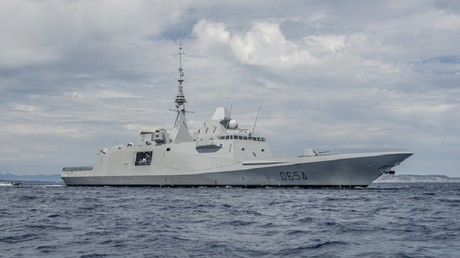Russia detects missile launches from French frigate off Syria's coast in Mediterranean