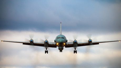 FILE PHOTO. Russian IL-20M. © Alexander KOPITAR / AFP