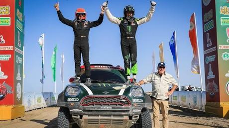 Race along Silk Road: Amul Hazar 2018 intl rally ends deep in Karakum Desert with surprise victory